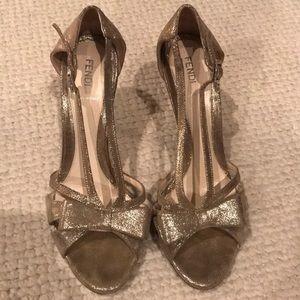 Fendi sparkly heels